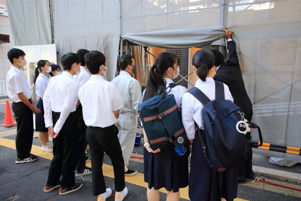 福岡中央高等学校フィールドスタディ
