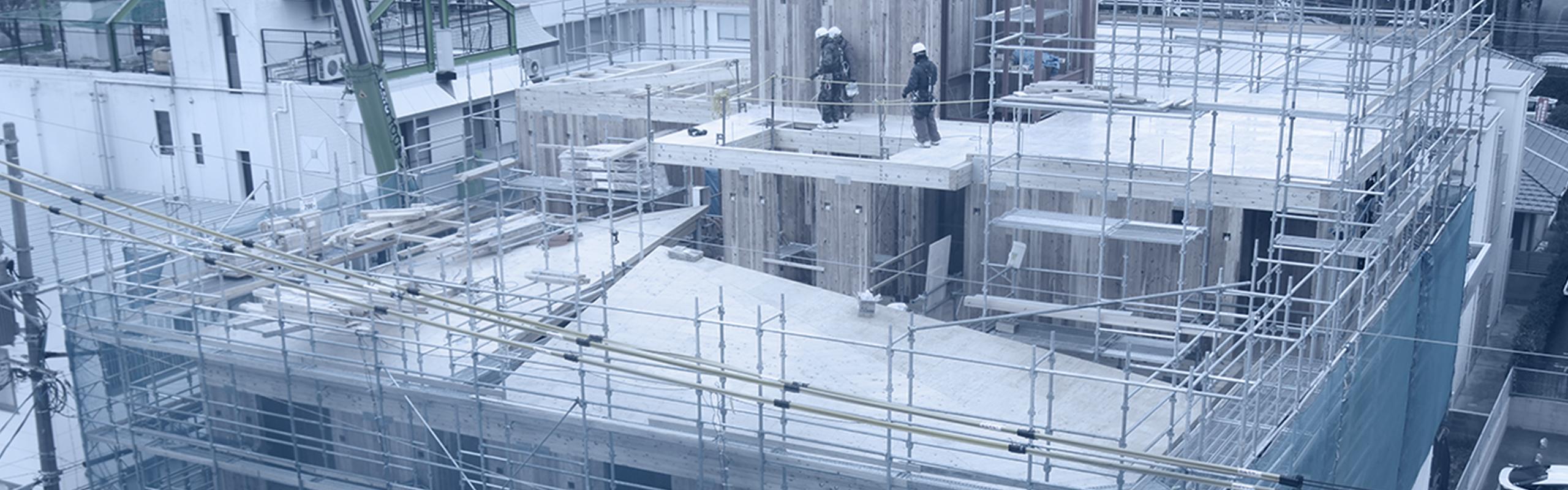 建築の新しいスタンダード CLT工法とは